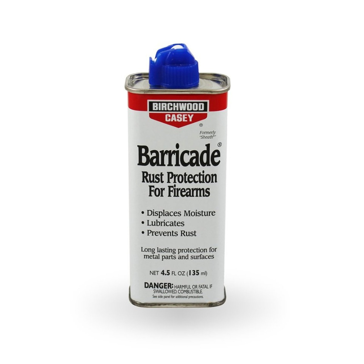 Birchwood Casey Barricade Rust Protection 4.5 Fl Oz Spout Can